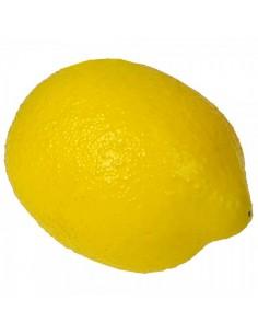 Imitación limón amarillo cítrico para fruterías y la decoración de escaparates de tiendas o comercios