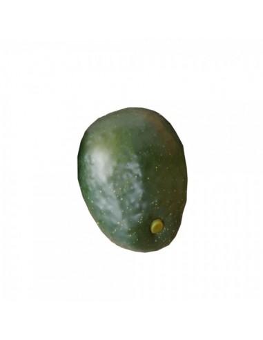 Imitación aguacate natural verde para fruterías y la decoración de escaparates de tiendas o comercios