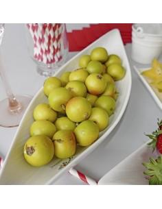 Imitación manzanas pequeñas para fruterías y la decoración de escaparates de tiendas o comercios