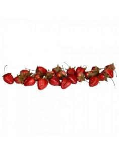 Imitación fresas para fruterías y la decoración de escaparates de tiendas o comercios