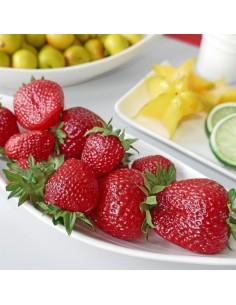 Imitación fresas manojo para fruterías y la decoración de escaparates de tiendas o comercios