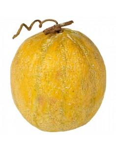 Imitación melón amarillo para fruterías y la decoración de escaparates de tiendas o comercios