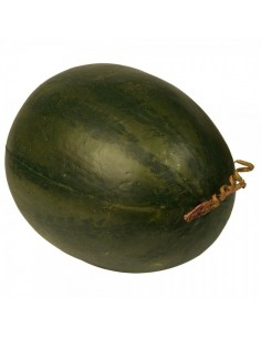 Imitación sandía verde oscuro para fruterías y la decoración de escaparates de tiendas o comercios