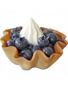 Imitación tartaleta de arándanos para panaderías pastelerías y escaparates de tiendas