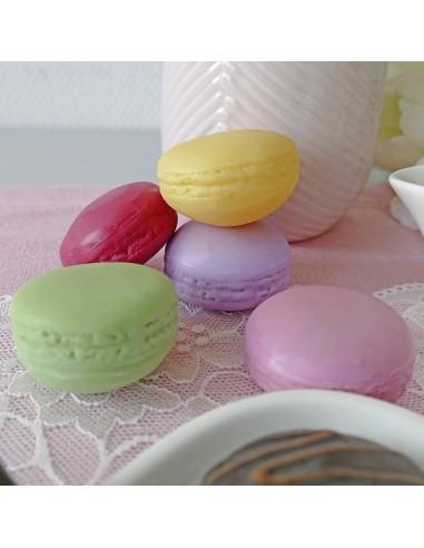 Imitación macarrones galletas de colores para panaderías pastelerías y escaparates de tiendas