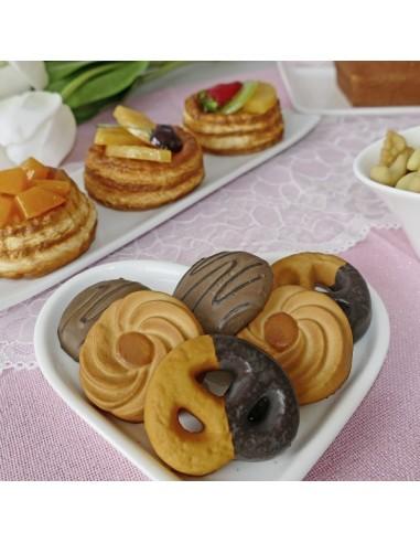 Imitación pastas de té para panaderías pastelerías y escaparates de tiendas