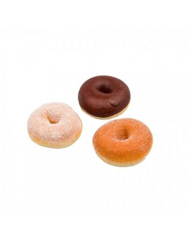Imitación donuts chocolate azúcar para panaderías pastelerías y escaparates de tiendas