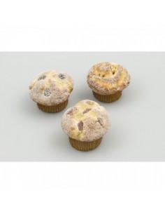 Imitación muffin surtido en bolsa para panaderías pastelerías y escaparates de tiendas
